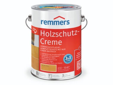 Лазурь-крем Holzschutz-Creme 3в1 для древесины