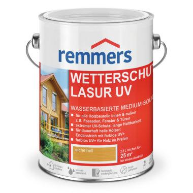 Лазурь Wetterschutz-Lasur UV+ с повышенной защитой от УФ