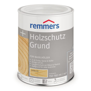 Грунт жидкий Holzschutz-Grund для древесины